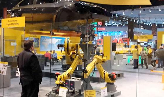 外智能机器人工厂